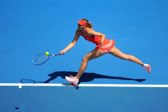 AUSTRALIAN OPEN. Sharapova ontmoet Bouchard in kwartfinales
