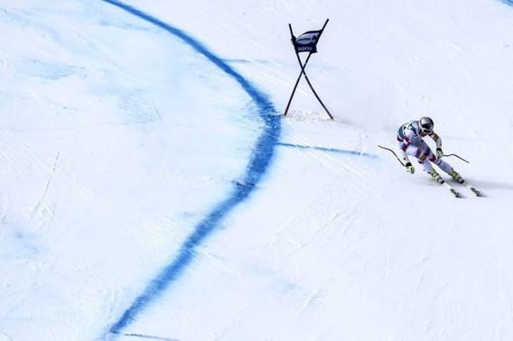 Lindsey Vonn behaalt 64e WB-zege op super-G in Sankt Moritz