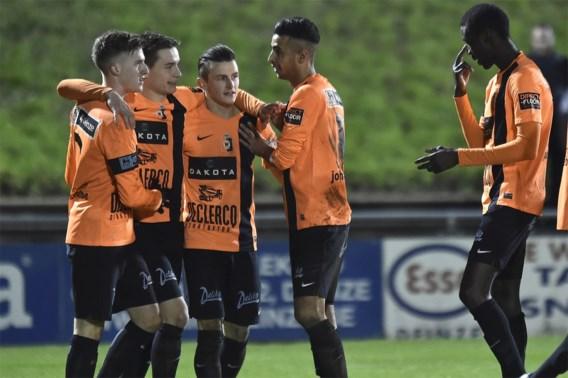 Deinze wint met vooroorlogse score bij stakende ploeg: 0-16
