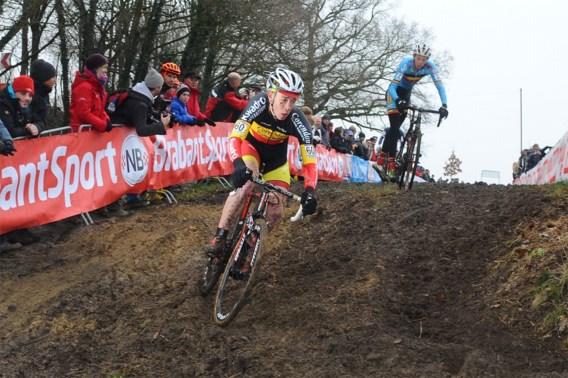 Laurens Sweeck wint cross waarin hij niet mocht starten