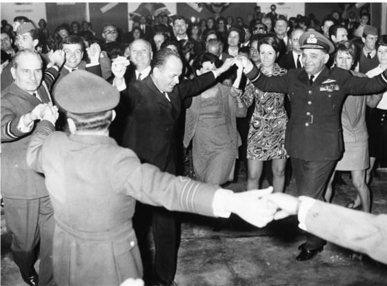 Tijdens de dictatuur van kolonel Georgios Papadopoulos werd de linkerzijde in Griekenland met westerse steun onderdrukt.