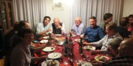 Matteo Simoni e famiglia