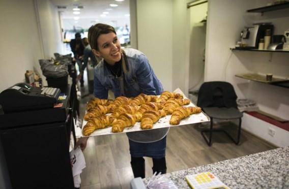 In de patisserie van Bonnenfant zijn uiteraard croissants te krijgen.