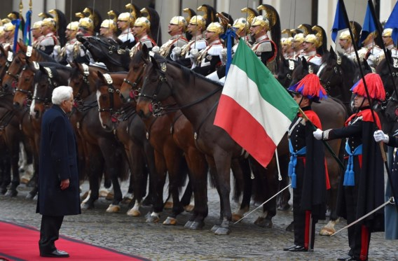 Nieuwe Italiaanse president legt eed af