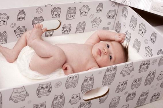 Waarom Finse baby's in dozen slapen