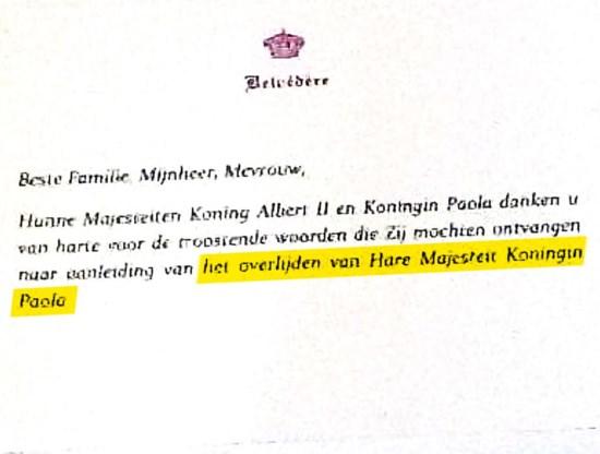 De brief met de pijnlijke fout.