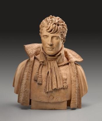 Een borstbeeld van Joseph Chinard.