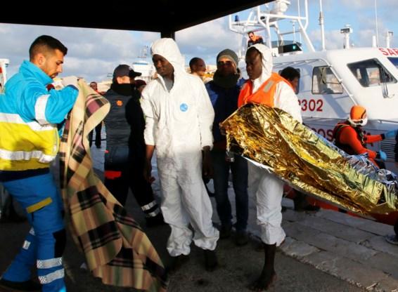 Driehonderd migranten verdronken voor kust van Lampedusa