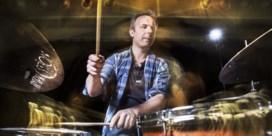 'Ik ben blij dat ik drum'  (behalve als ik na het concert mijn drumstel moet afbreken')