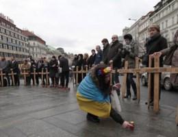 Minstens twee doden na explosie bij protest Charkov