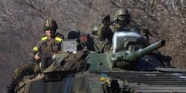 Oekraïne trekt zware wapens nog niet terug 'door beschietingen separatisten'