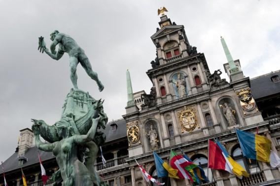 Stadhuis in Antwerpen viert 450e verjaardag