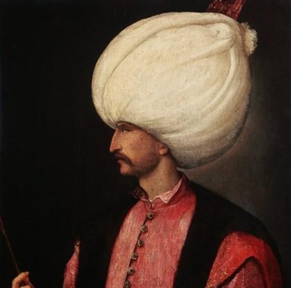 'Sultan Suleiman II', 1530, te zien in Bozar.