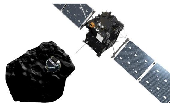 Rosetta lost de lander Philae boven de badeendkomeet.
