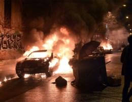 Manifestatie tegen Griekse regering ontaardt in rellen