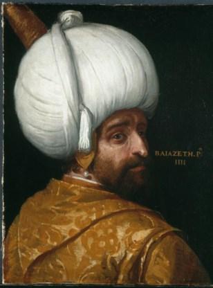 'Sultan Bajezid I', Paolo Veronese.
