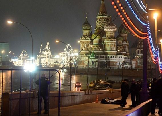 Russische oppositieleider doodgeschoten in Moskou