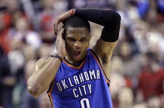 NBA. Glansprestatie Westbrook volstaat niet voor Thunder
