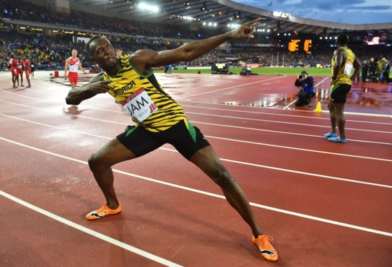 Usain Bolt maakt comeback in eigen land