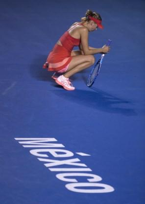 Zieke Sharapova haalt  finale Acapulco niet