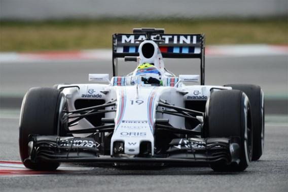 Massa is de snelste in ochtendsessie Barcelona