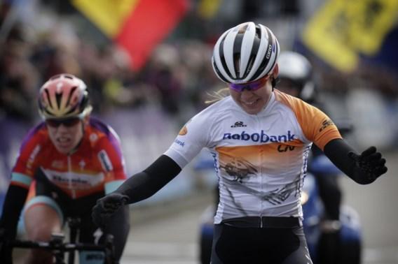 Alweer geen Belgische winnares Omloop Het Nieuwsblad voor vrouwen