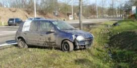 Twee agenten gewond bij wilde achtervolging in Diepenbeek