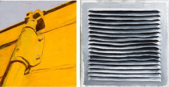 Links: Container. Rechts: Frans Spaestraat 35.