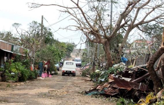 'Meeste bewoners dakloos na doortocht cycloon'