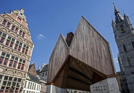 De Stadshal in Gent: resultaat van een open oproep.