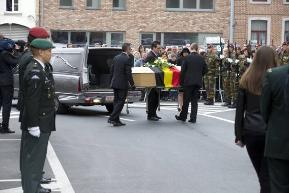 Slachtoffer aanval Mali met militaire eer begraven in Nederbrakel