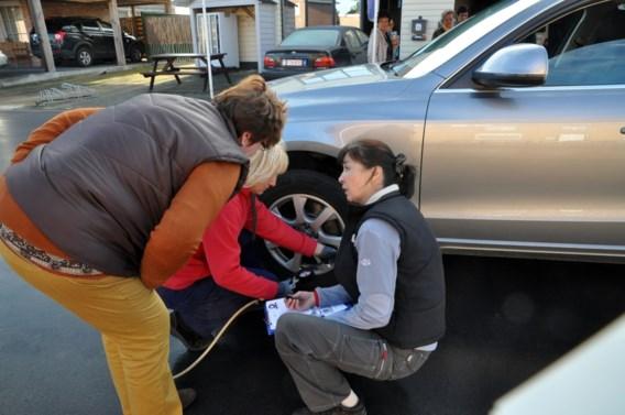 'Eén op de vijf tankstations te mijden voor controle bandenspanning'