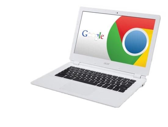 Steek de Chromebit in je scherm en je hebt een computer.