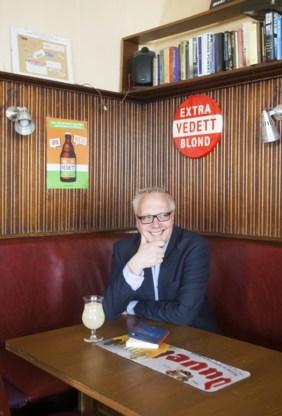 Peter Mertens op campagne in Antwerpen, voor de verkiezingen van mei 2014. 'Als je het ACW meerekent, is links goed voor 30 procent. Elke linkse politicus moet dat toch veel te weinig vinden?'