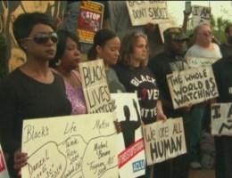 Amerikanen op straat tegen politiegeweld