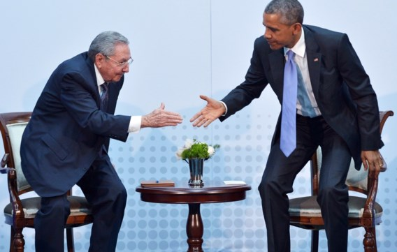 Obama: 'Eerlijke en open discussie met Castro'