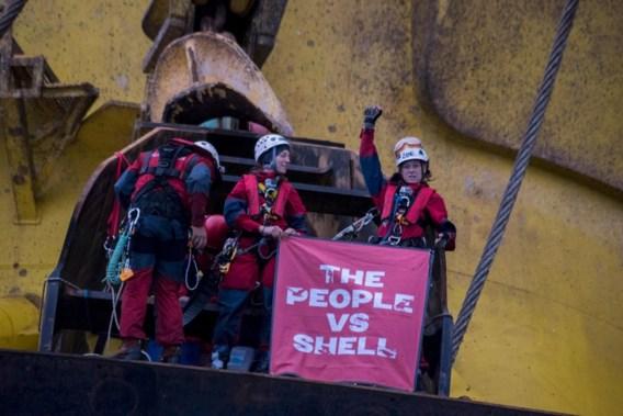 Greenpeace verlaat boorplatform Shell