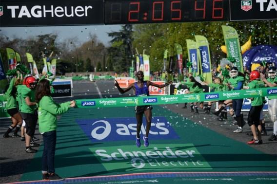 Keniaan Mark Korir wint marathon van Parijs