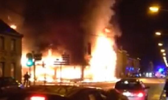 Zware brand verwoest brasserie en fitness