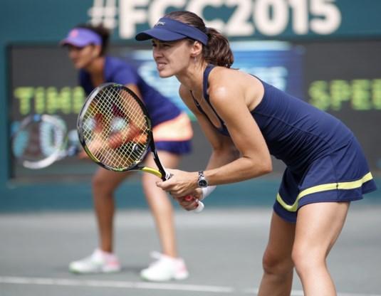 Martina Hingis en Sania Mirza boeken derde toernooizege op rij