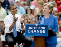 Obama: 'Hillary zou geweldige president zijn'