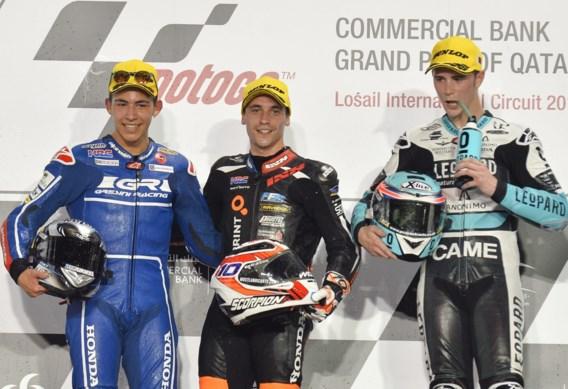 GP Americas - Danny Kent (Honda) domineert tweede manche in Moto3, Livio Loi crasht