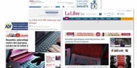 Websites van Le Soir, La Libre Belgique en DH opnieuw toegankelijk