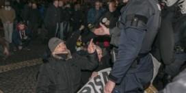 GAS-pv voor journalisten die verslag uitbrachten van Antwerpse manifestaties