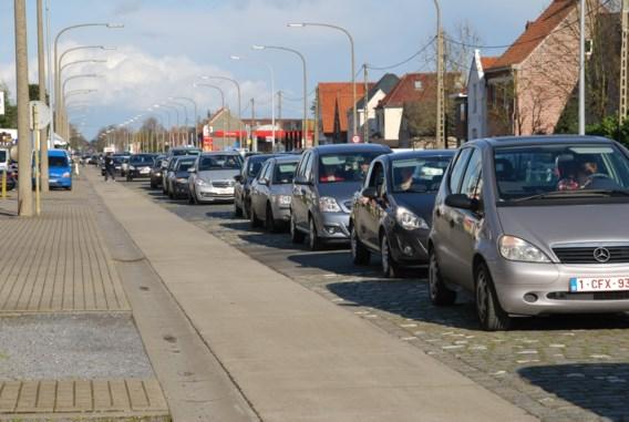 Vaker in de file op gewest- dan op snelwegen