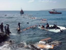 Drie doden bij schipbreuk voor kust van Rhodos