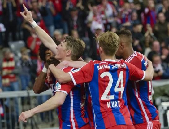 Bayern München wint 25e landstitel na verlies Wolfsburg
