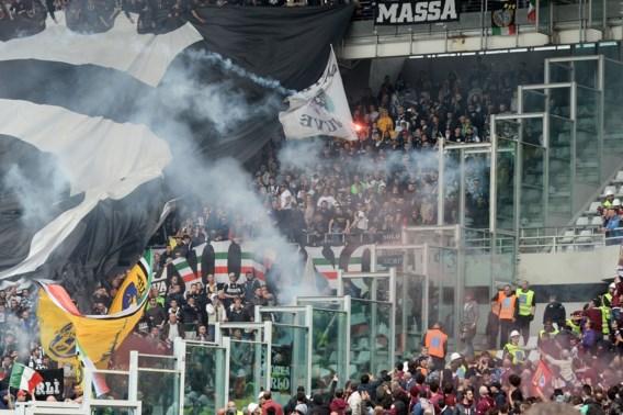 'Tien gewonden na papierbom in Turijnse derby'