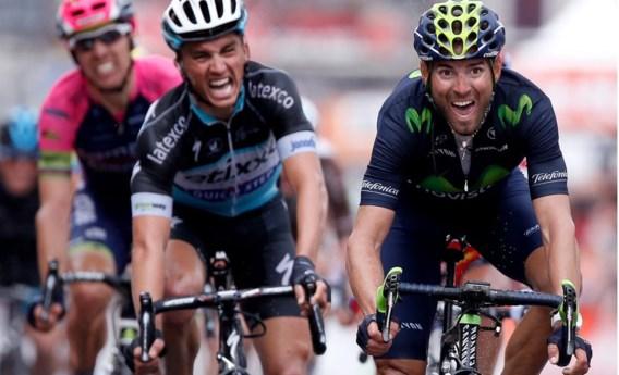 Alejandro Valverde is de nieuwe leider in WorldTour-klassement
