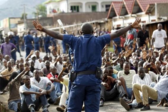 Politie schiet twee betogers dood in hoofdstad Burundi